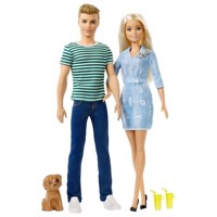 Barbie and Ken  Gift set