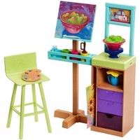 Barbie   Career Playset  Art Studio (FJB26)