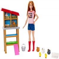 Barbie  Careers  Chicken Farmer and Coop FXP15