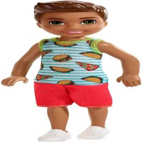 Barbie - Chelsea and Friends Doll - Boy Doll in Food-Themed Look (FXG78)