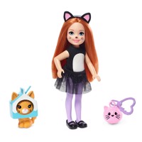 Barbie Club Chelsea Dress up Doll Cats