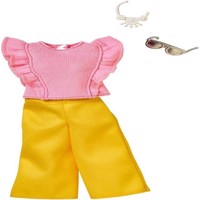 Barbie  Complete Looks Fashion  Pink Top  Yellow Bottoms FRY84