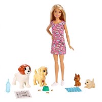 Barbie  Doggy Daycare Potty Training Playset FXH08