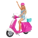 Barbie Doll with Scooter