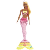 Barbie Dreamtopia  Mermaid Doll Dark FJC90