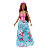 Barbie Dreamtopia Princess with Brown Hair