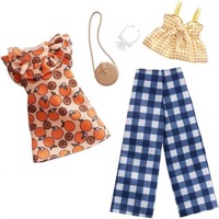 Barbie  Fashion 2 Pack  Fruit  Gingham FXJ61