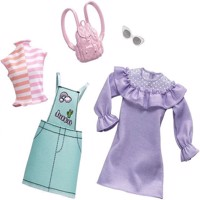 Barbie  Fashion 2 Pack  Pastel  Patchwork FXJ64