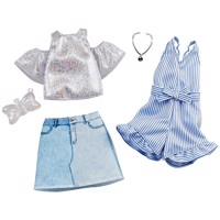 Barbie - Fashions: 2-Packs - Denim and Sparkle (GHX56)