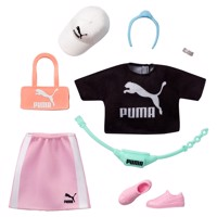 Barbie Fashions Puma Clothing Set Black