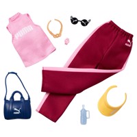 Barbie Fashions Puma Clothing Set Pink
