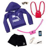 Barbie Fashions Puma Clothing Set Purple