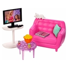 Barbie furniture & accessories filmnight