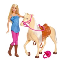 Barbie  Horse and Rider FXH13