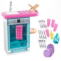 Barbie  Indoor Furniture  Kitchen and Dishwasher Playset FXG35