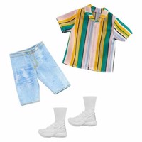 Barbie ken clothes shorts t-shirt and sneakers ghx46