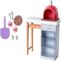 Barbie  Outdoor Furniture  Brick Pizza Oven FXG39