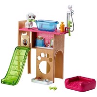 Barbie  Pet Station and Puppy Set DVX50