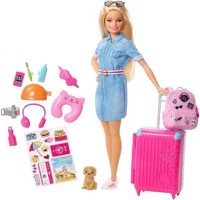 Barbie  Travel Doll FWV25