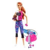 Barbie - Wellness Doll - Athlesiure (GJG57)