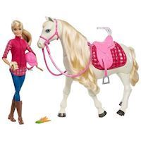 Barbie with Droompaard