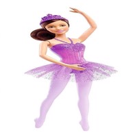 Barbie  You Can Be Anything  Ballerina Doll  Purple DHM43