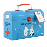 Barbo toys moomin doctor se tin carry box