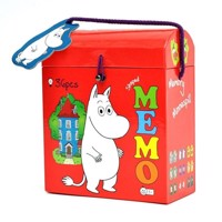 Barbo toys moomin memory in shaped box