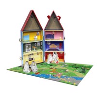Barbo toys moomins bring along house