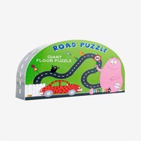 Barbo toys puzzle barba papa road puzzle 43 pcs
