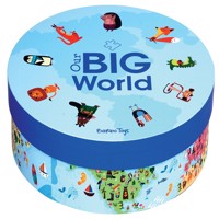 Barbo toys puzzle our big world 200 pcs