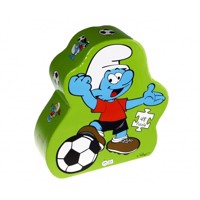 Barbo toys puzzle smurf deco football