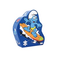 Barbo toys puzzle smurf deco surf