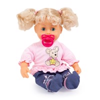 Bayer doll interactivebaby38cmblond