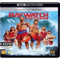 Baywatch Dwayne Johnson 4K Blu-ray