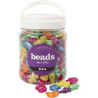 Beads - Box of 700 ml. -  Animals Shaped Beads - Approx. 220 pc