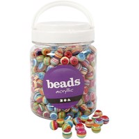 Beads - Box of 700 ml. - Multi Mix - Approx. 530 pc