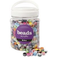 Beads - Box of 700 ml. - Multi Mix - Approx. 950 pc