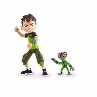 Ben 10 - Omni Enhanced Figure - Ben Tennyson and Greymatter
