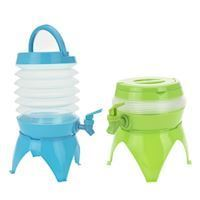 Beverage dispenser foldable