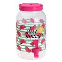 Beverage dispenser Hello Summer  Pink
