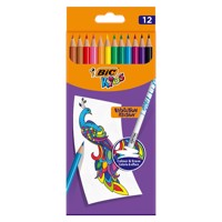 BIC Kids Evolution Erasable Crayons, 12pcs.