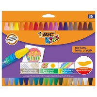 BIC Kids Oil Pastel Chalks, 36st.