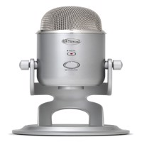 Blue - Microphone Yeti Silver