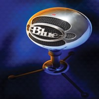 Blue  Snowball Brushed Aluminium - PC