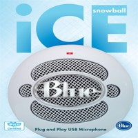 Blue  Snowball ICE White - PC