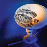Blue  Snowball Textured White - PC