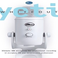 Blue  Yeti Whiteout - PC