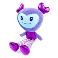 Brightlings  Interactive Singing Plush  Purple