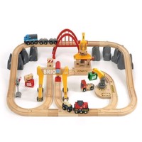 BRIO  Cargo Railway Deluxe Set in Tub 33097